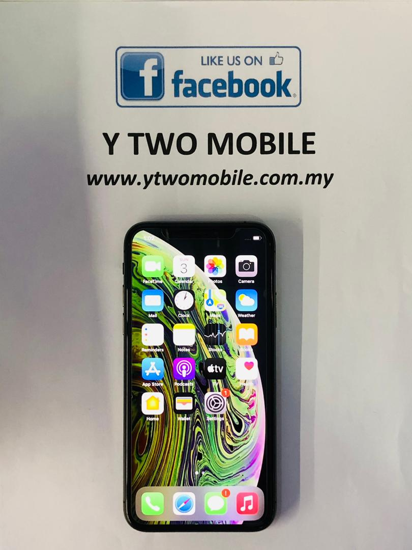 [Y Two Mobile] Demo. Apple iPhone XS 64GB (MY Set with Box)