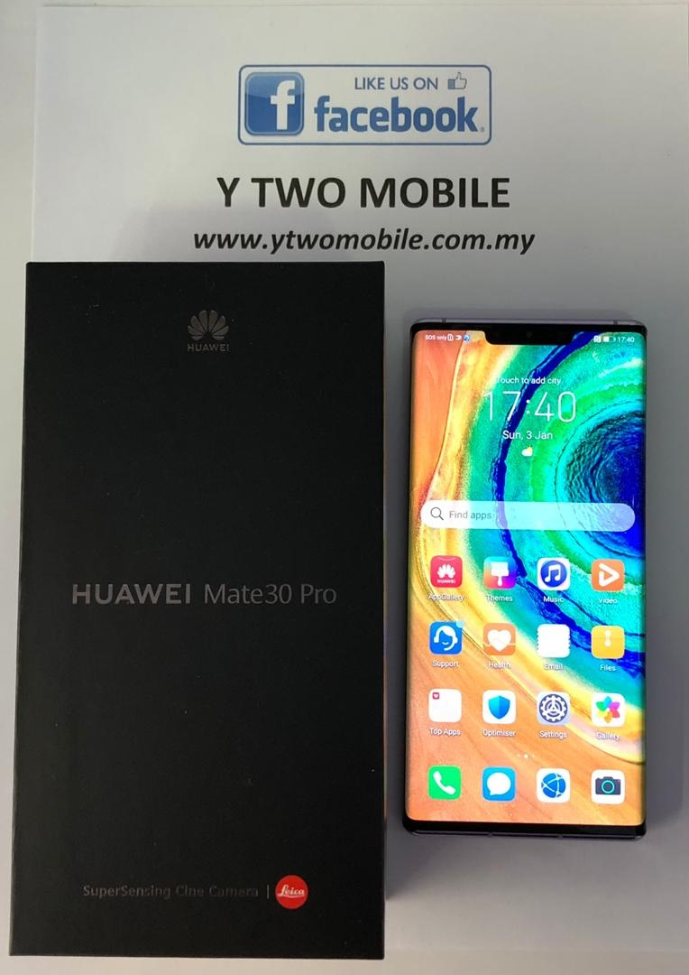 [Y Two Mobile] Demo. Huawei Mate 30 Pro 8+256 (with Box)
