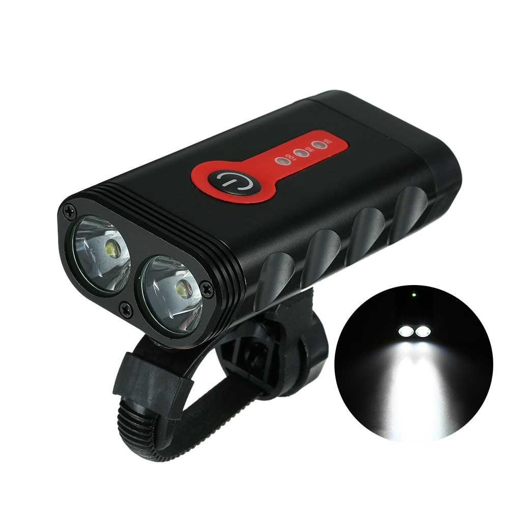 Y10 600LM USB Rechargeable Bike Light