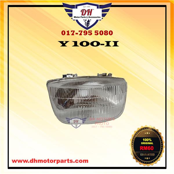 Y100-II ORIGINAL HEAD LAMP