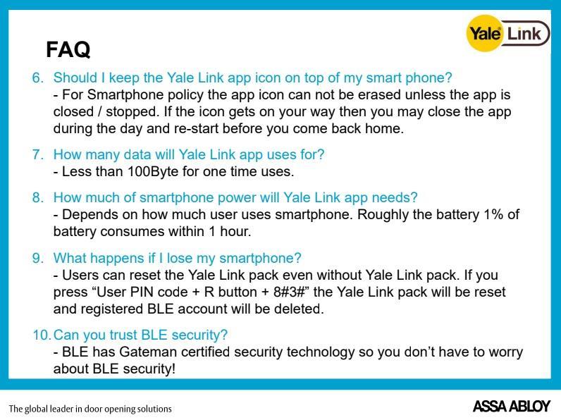 YALE Link WiFi Bridge for Yale Digital Door Lock