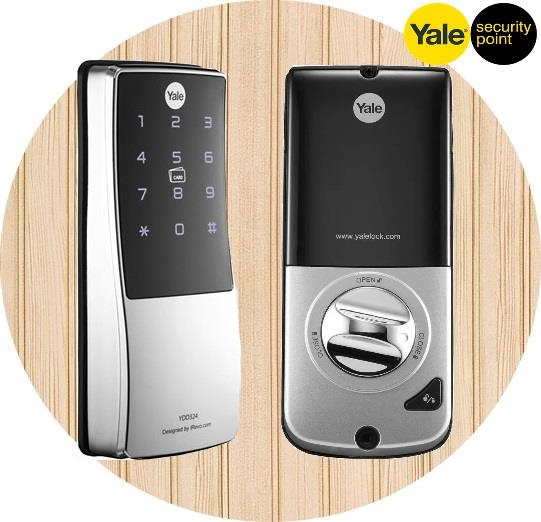 Yale YDD324 Card Access Digital Deadbolt Door Lock