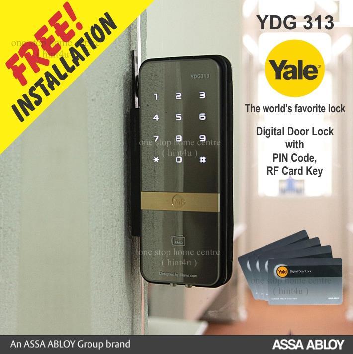 Yale Ydg 313 Digital Glass Door Lock End 622019 1015 Pm