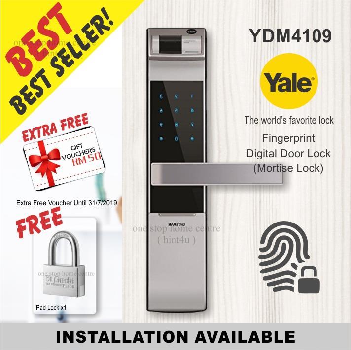 Yale Ydm 4109 Silver Pin Key Finge End 1 4 2021 10 15 Pm
