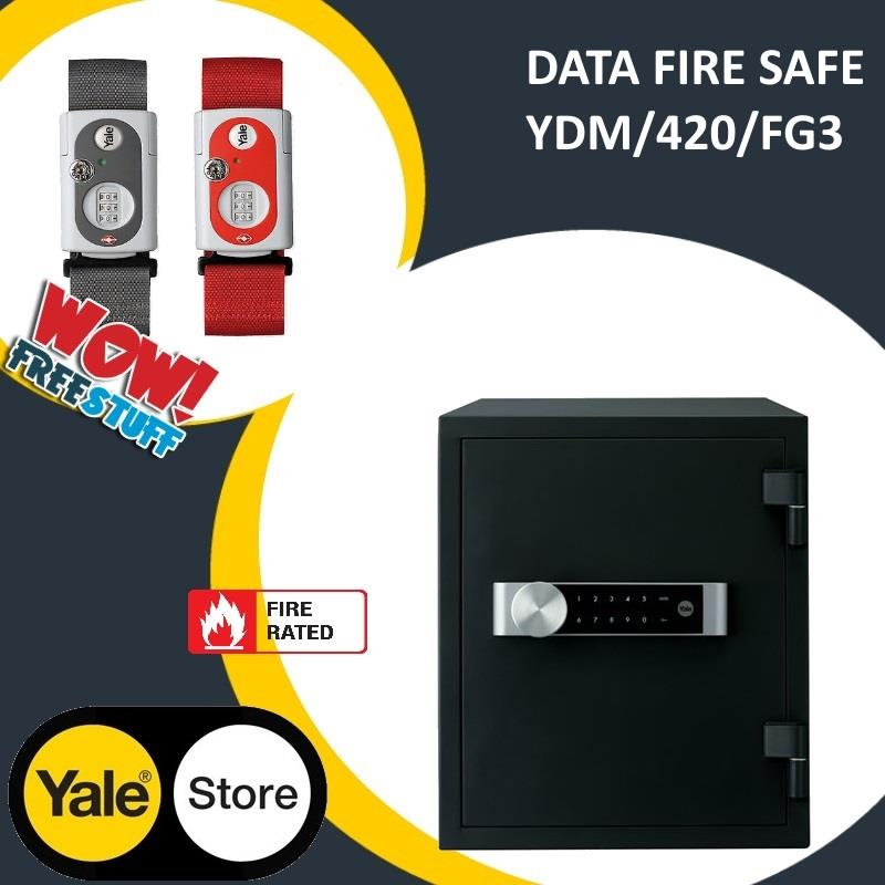 Yale YDM/420/FG3 Date Fire Safe Large