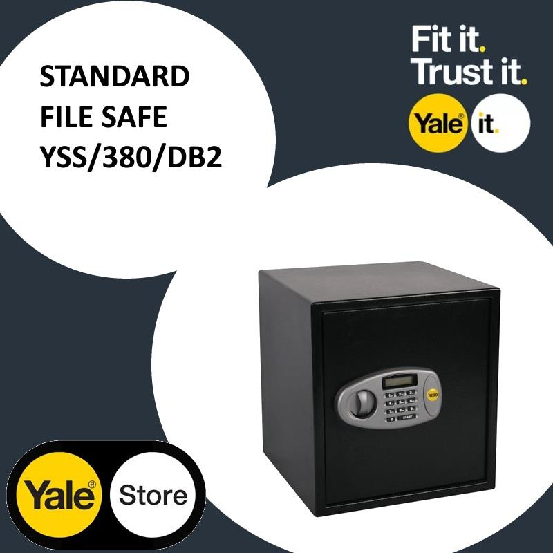 Yale YSS/380/DB2 Standard Digital Safe File Sized