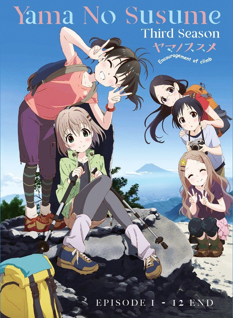 Yama no susume sea 3 episode 1 12 end anime dvd