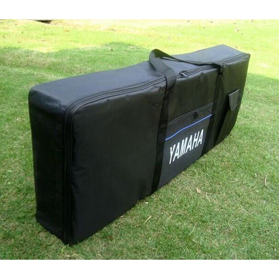 Yamaha 61 88 Keys Keyboard Bag Sponge Hand Shoulder Carry New Extra Thi