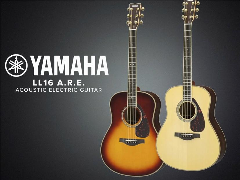 Yamaha Acoustic Guitar LL16 LL 16 LL-16 //ARE with FREE Hardcase