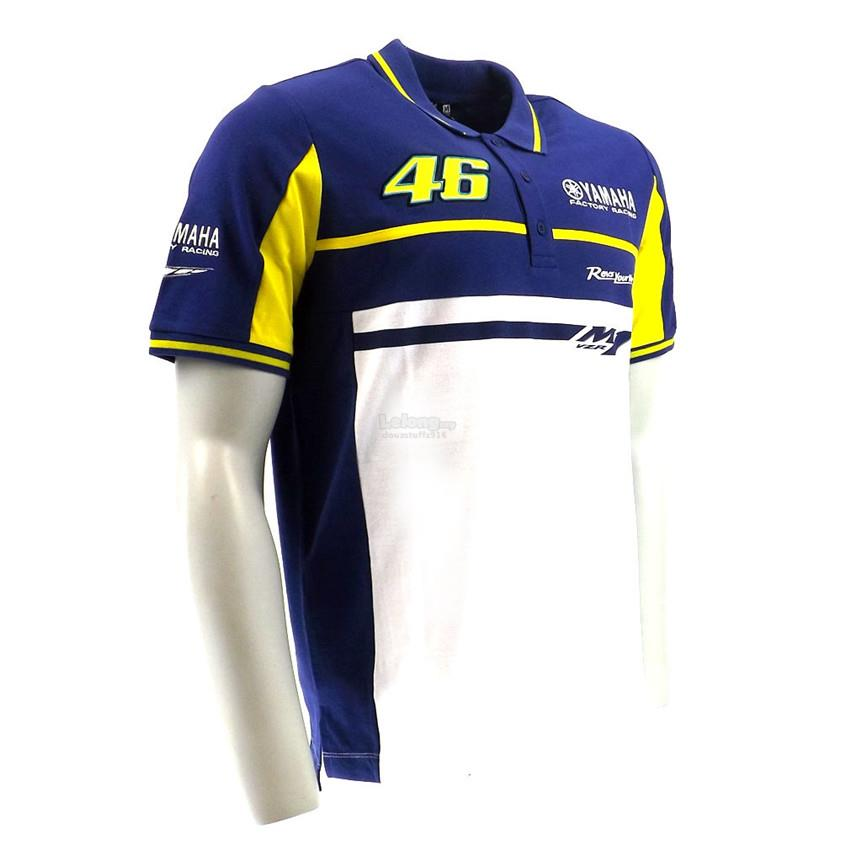 yamaha biker racing vr46 polo men for end 2 3 2019 1 15 am. Black Bedroom Furniture Sets. Home Design Ideas