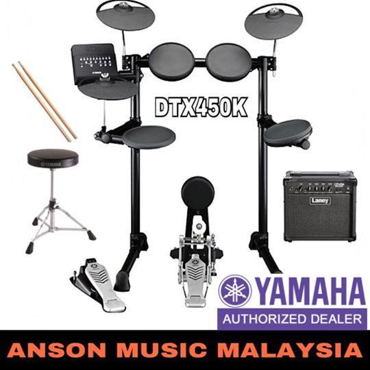 yamaha dtx450k electronic drum kit end 5 10 2018 2 15 pm. Black Bedroom Furniture Sets. Home Design Ideas