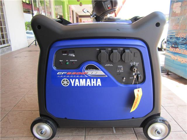 Yamaha Ef6300ise Portable Inverter S  End 8  28  2019 2 15 Pm
