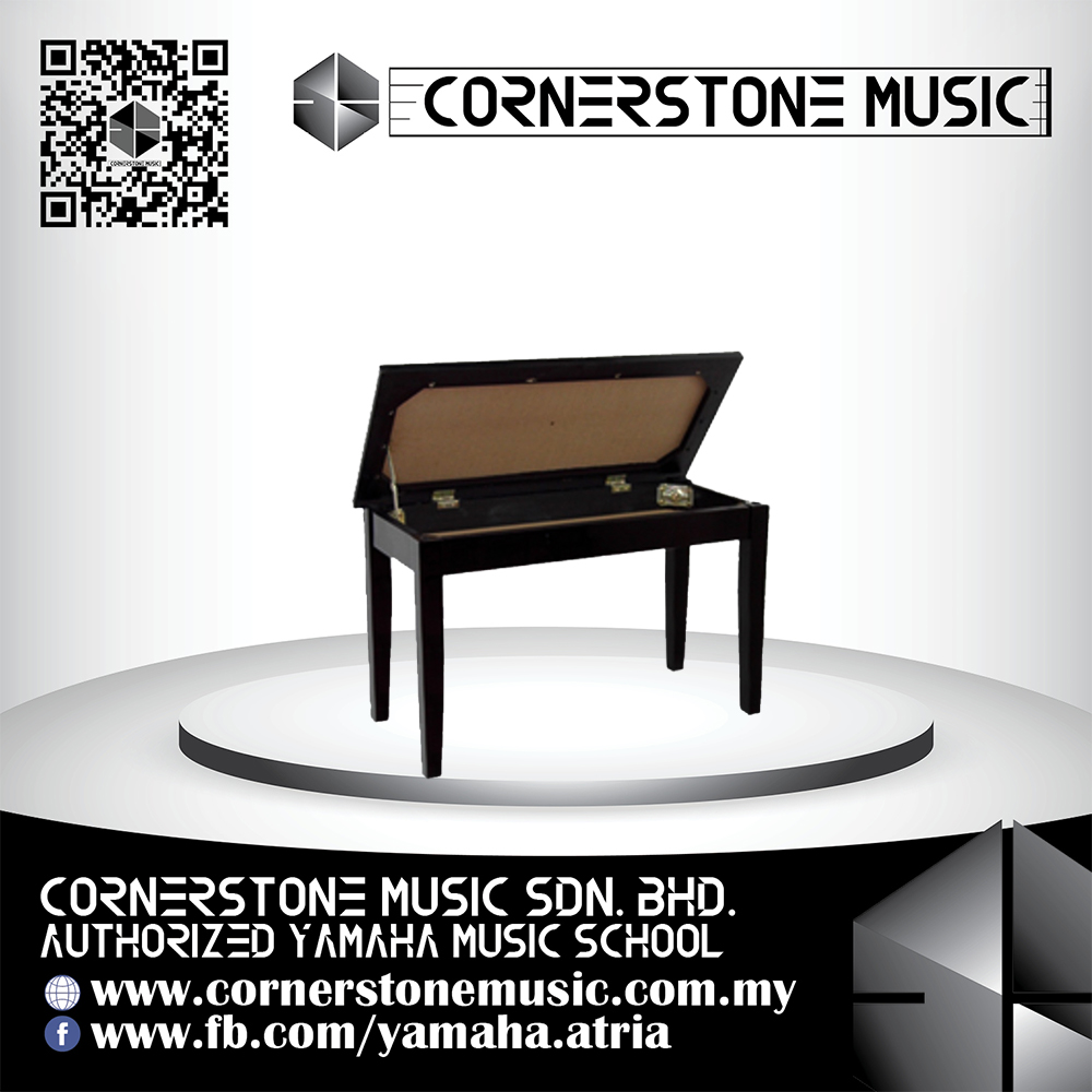 Yamaha Grand Piano Bench No.3 - PE / Polished Ebony