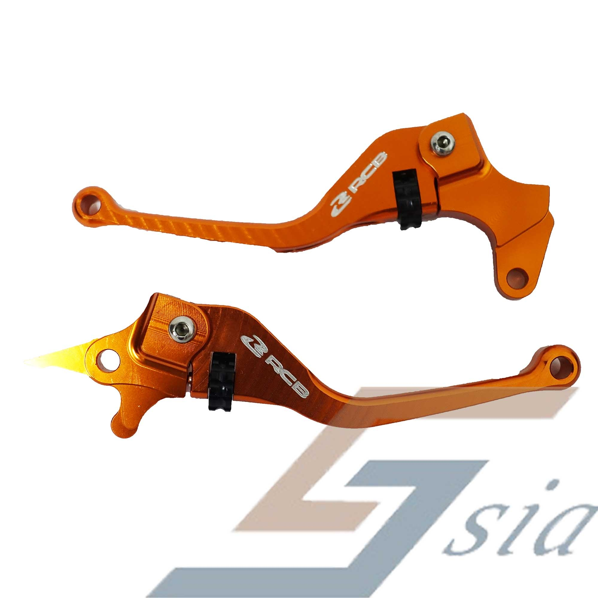 Yamaha LC135(5s)/Y15ZR Racing Boy Alloy Lever Set S1 (Orange)