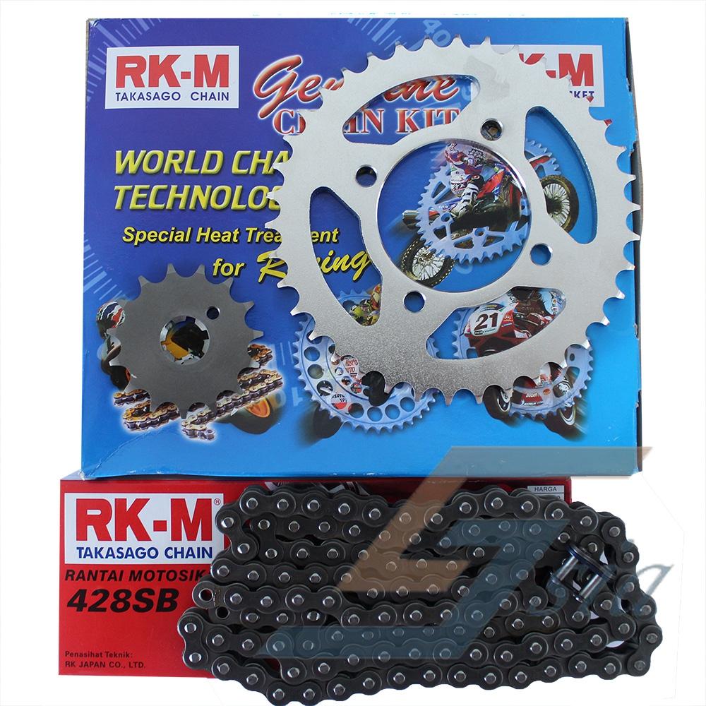 Yamaha LC135 RKM Takasago Chain Sprocket Set (428SBx112L/15/36)