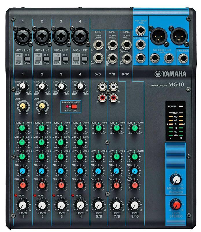 Harga Mixer Yamaha Mg