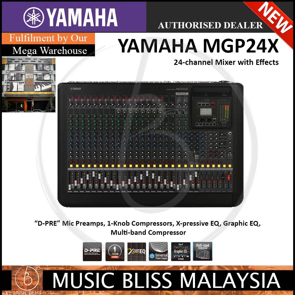 Yamaha MGP24X 24-Input Hybrid Digital/Analog Mixer w/USB *Crazy Sales*