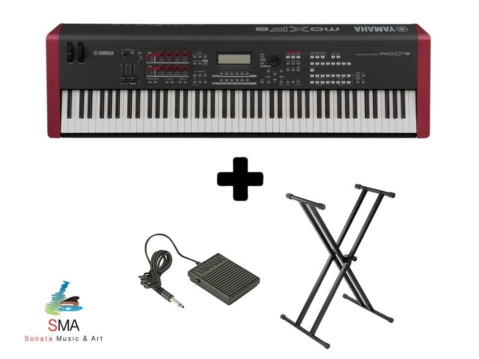 Yamaha Music Production Synthisizer MOXF 8 with FREE Item
