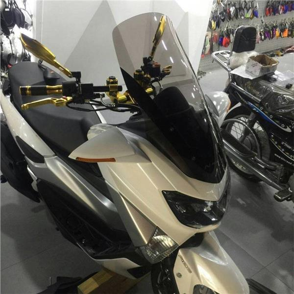 YAMAHA Nmax 155 Scooter Windscreen Windshield PVC Glass Motorcycles. ‹ ›