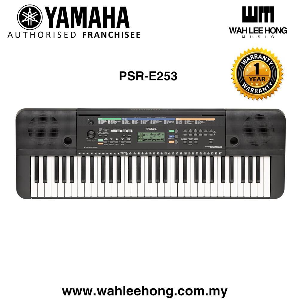 Yamaha Psr E253 61 Keys Portable Keyboard Psre253 Psr E253