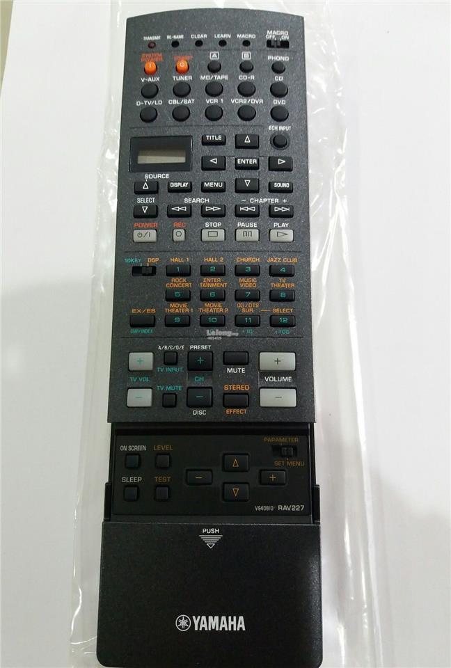 Yamaha remote control model rav227 end 11 21 2017 7 38 am for Yamaha remote control app