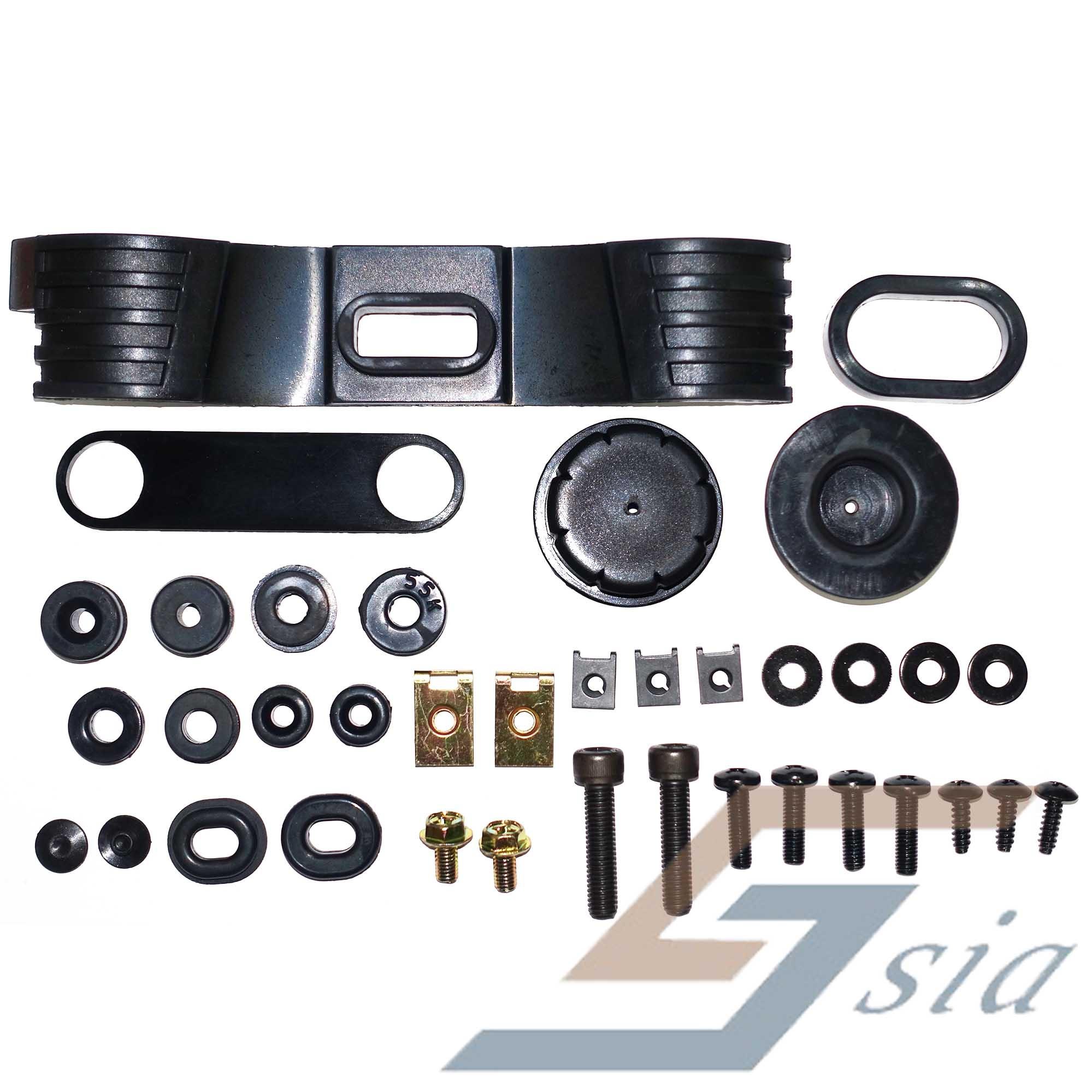 Yamaha Rxz Catalyzer Body Cover Screw Set