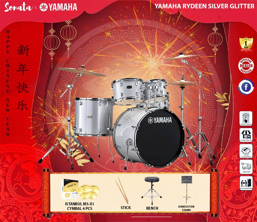Yamaha Rydeen with Istanbul MS-X1 cymbal with conductor stand