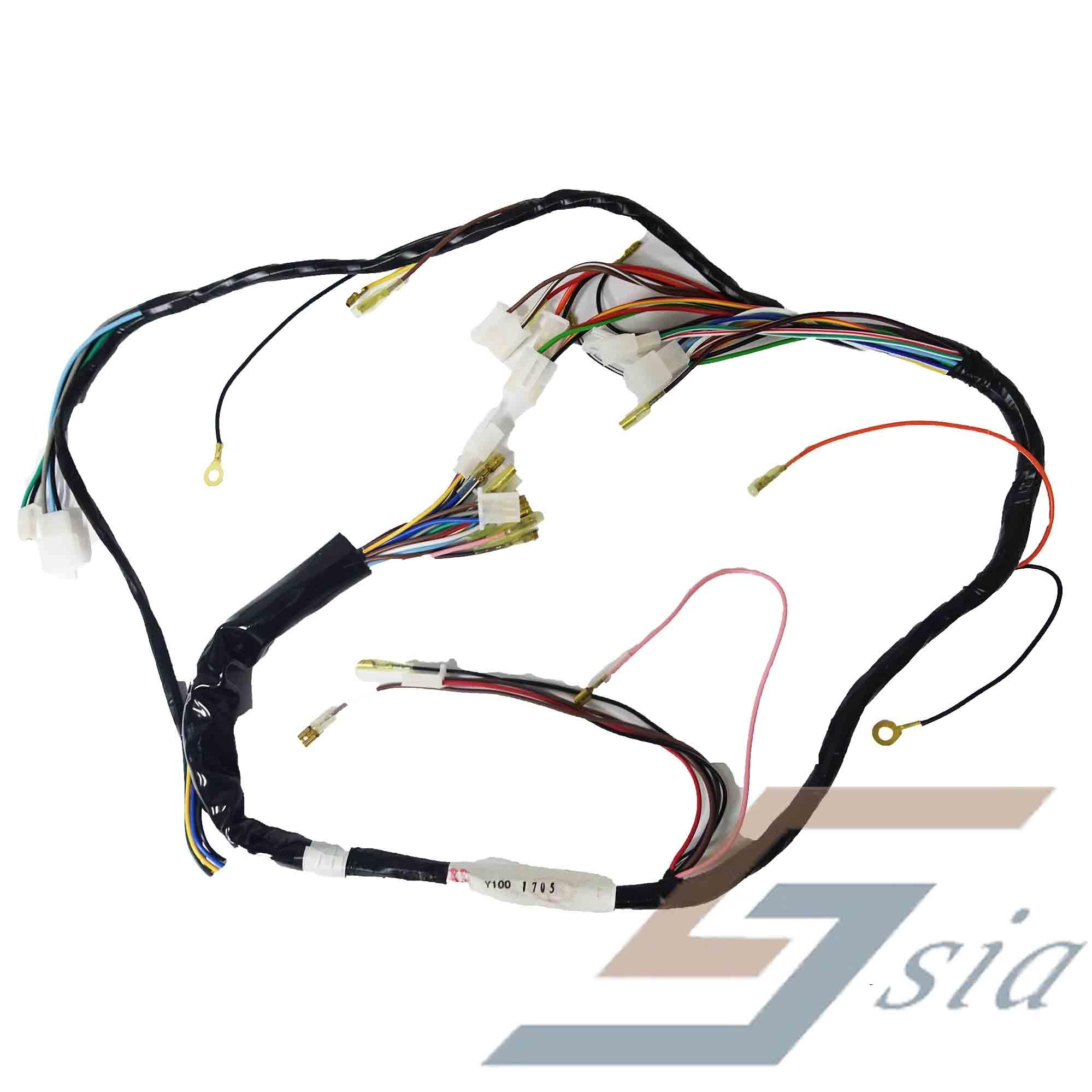 yamaha y100 wiring complete set  ‹ ›