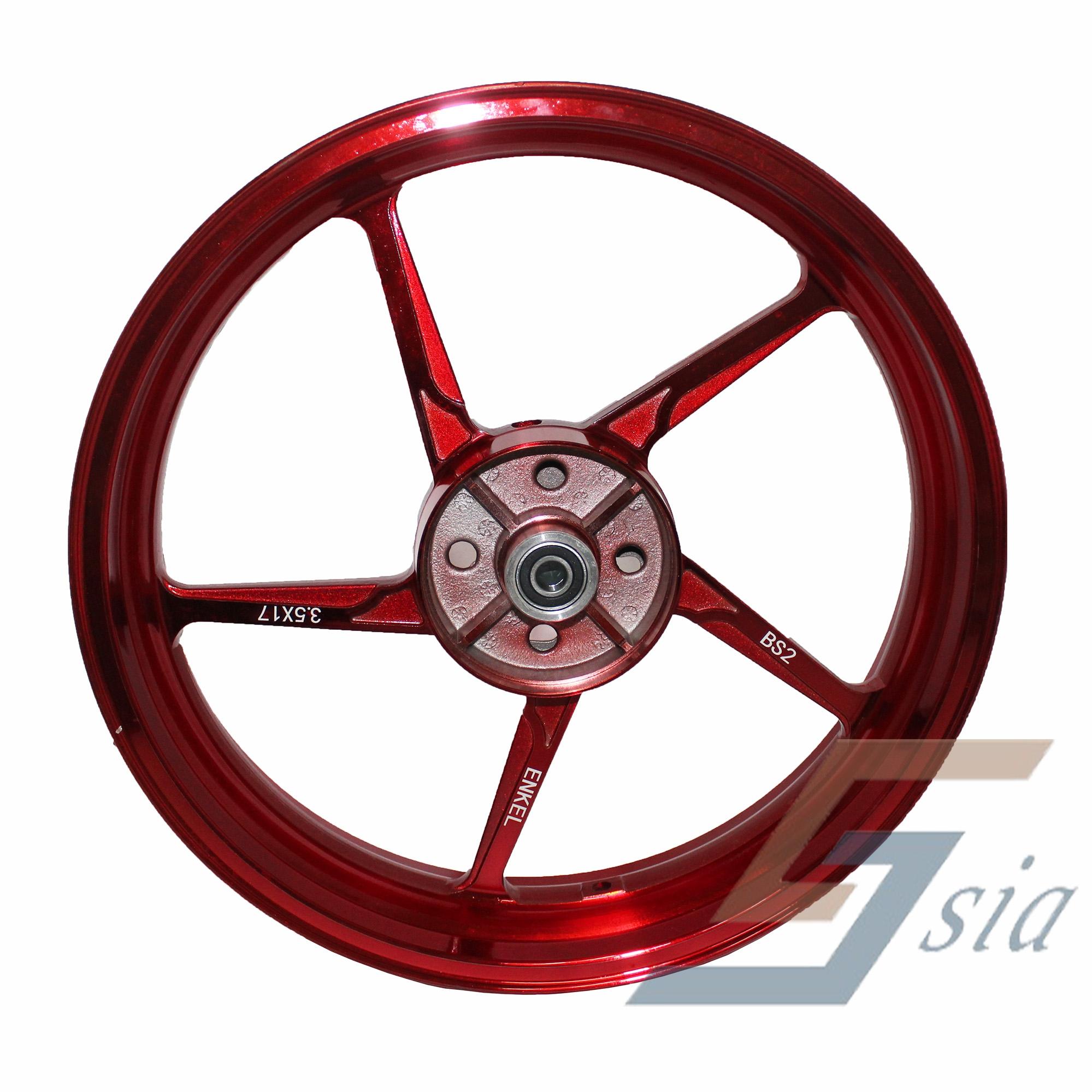 Yamaha Y15ZR BS2 5L Racing Sport Rims (Red)