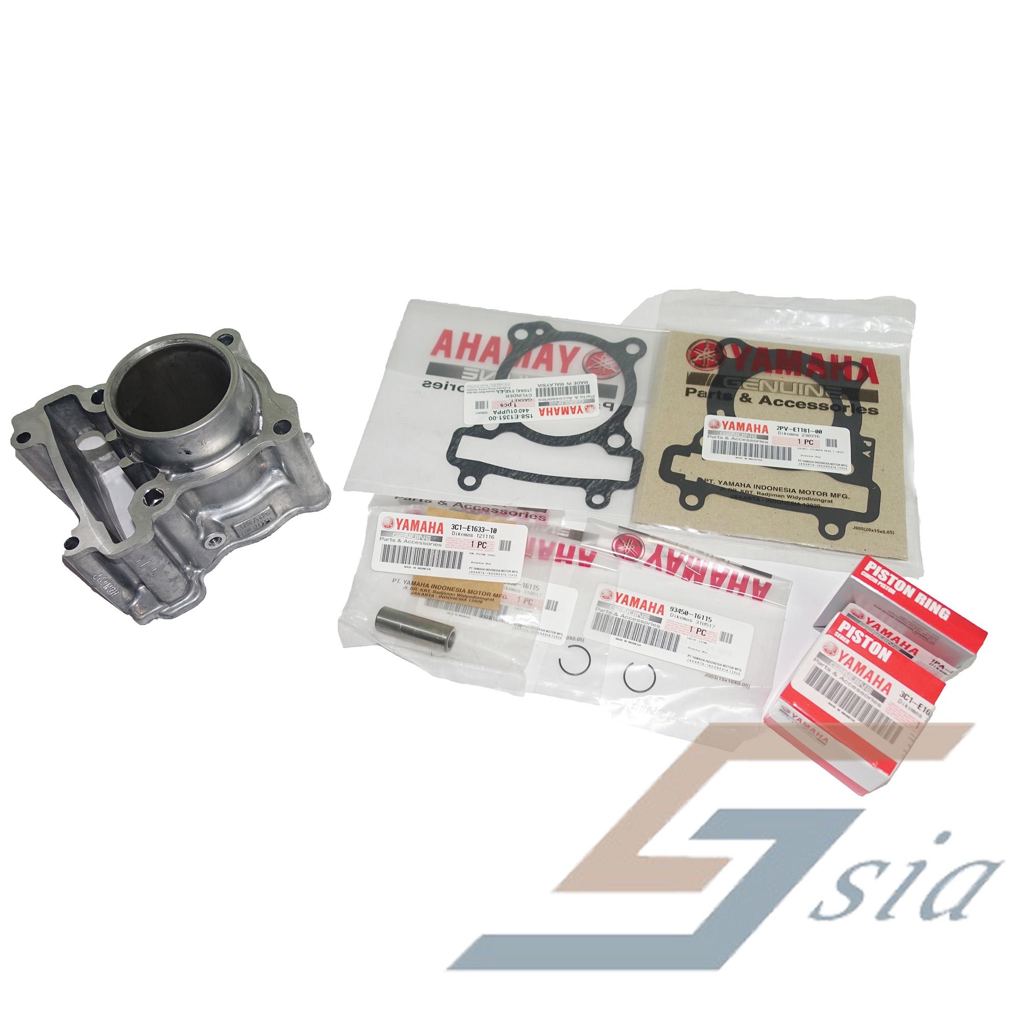 Yamaha Y15ZR Cylinder Block Set (Genuine)