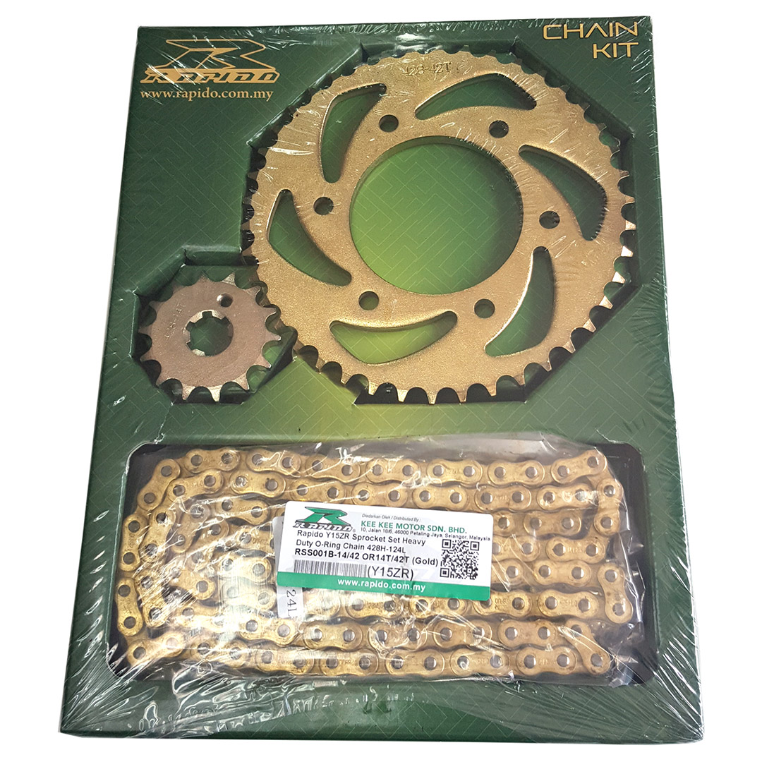 Yamaha Y15ZR Honda RS150R Sprocket Set O-Ring