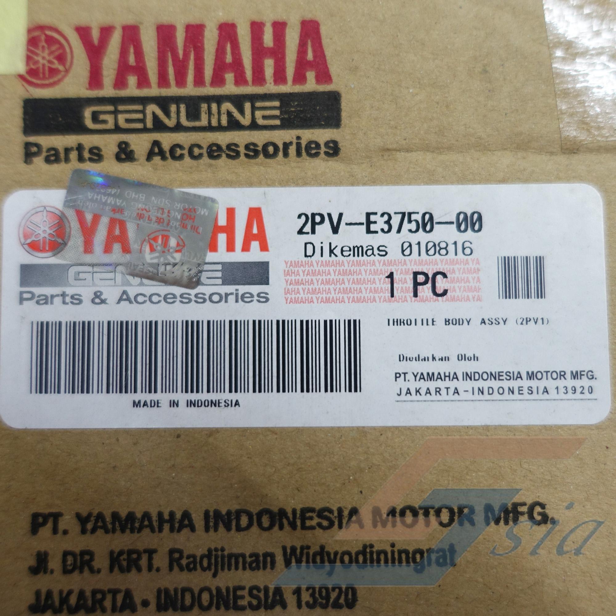 Yamaha Y15ZR Throttle Body Assy (Genuine)