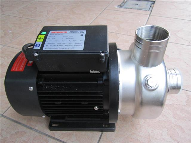 Yamamoto 2.0HP 2' x 2' Stainless Steel Centrifugal Water Pump