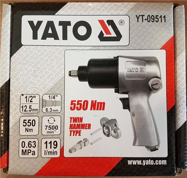 Yato YT-09511 1/2' Air Impact Wrench ID779707