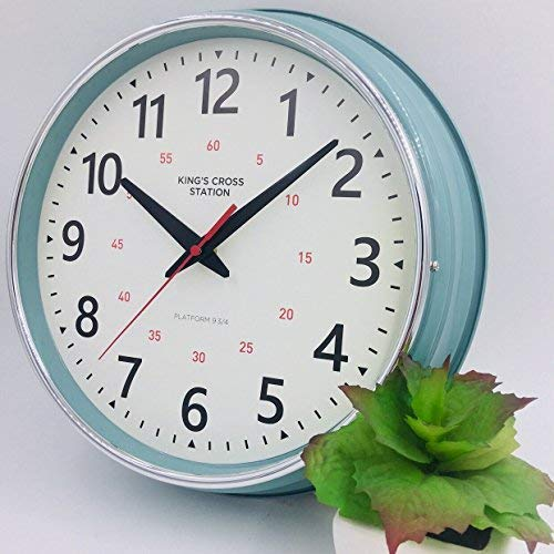 ..// YAVIS LIN'A3 Countryside Style Metal Wall Clock, Retro/Vintage Wall Clock