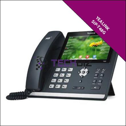 Yealink SIP-T48G Ultra-elegant Gigabit IP Phone