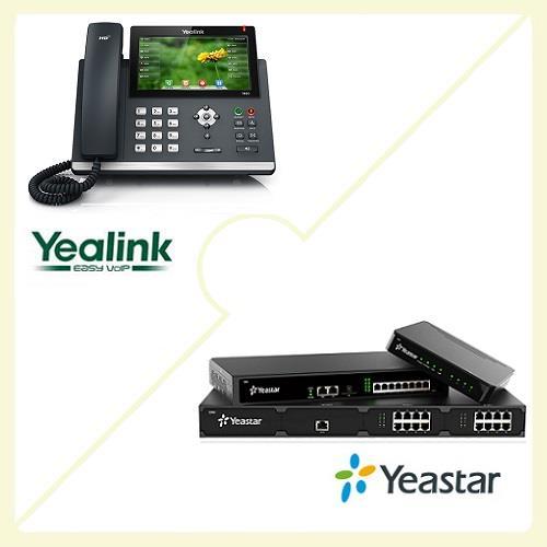 Yealink SIP-T48G + Yeastar S50 COMBO