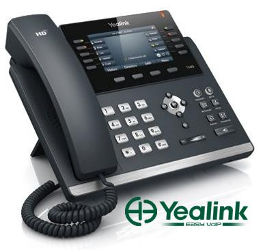 Yealink Ultra-elegant Gigabit IP Phone SIP-T46G