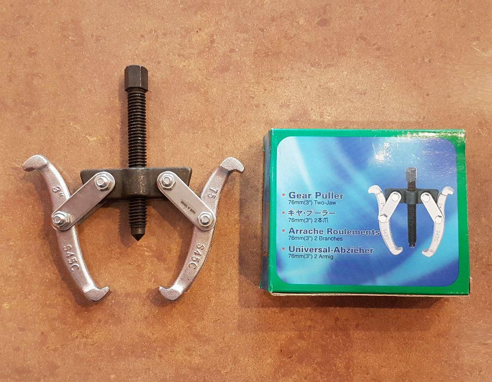 Yearsway Taiwan 76mm 2-Jaw Gear Puller ID224052