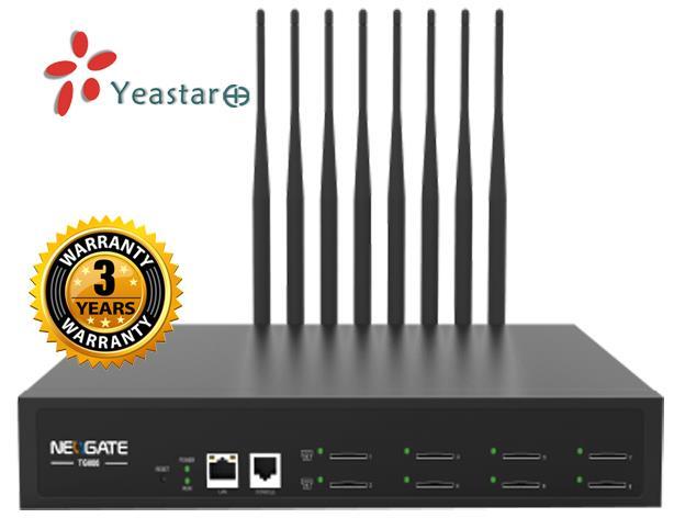 Yeastar VoIP GSM Gateway NeoGate TG800