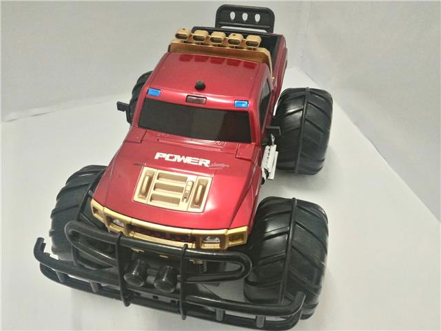 YED1602 Amphibious 4x4 2.4GHz Remote Control Off-Road Car (Red)