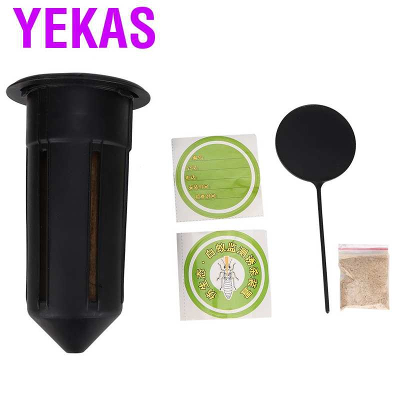Yekas Termite Bait Monitoring Tools Killer Trapper Outdoor White Ant A
