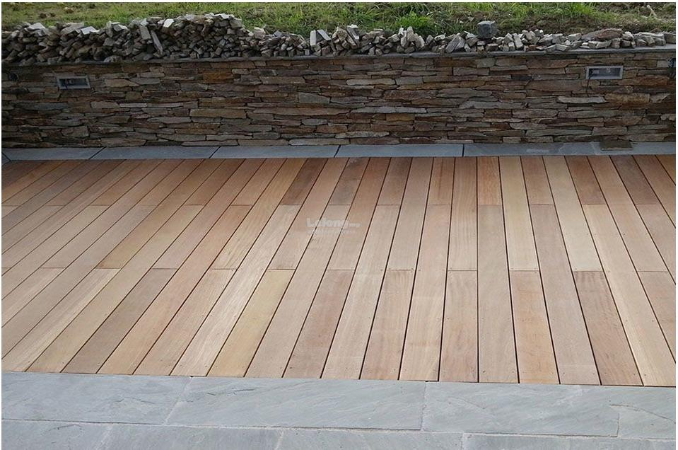 Yellow Balau / nyatoh  Decking hard wood flooring woodmalaysia