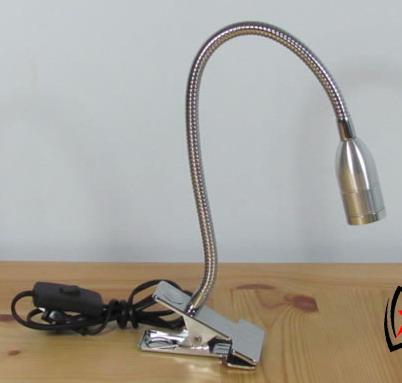 Yezl Warm White Cree Led Table Lamp Clip Base 5001