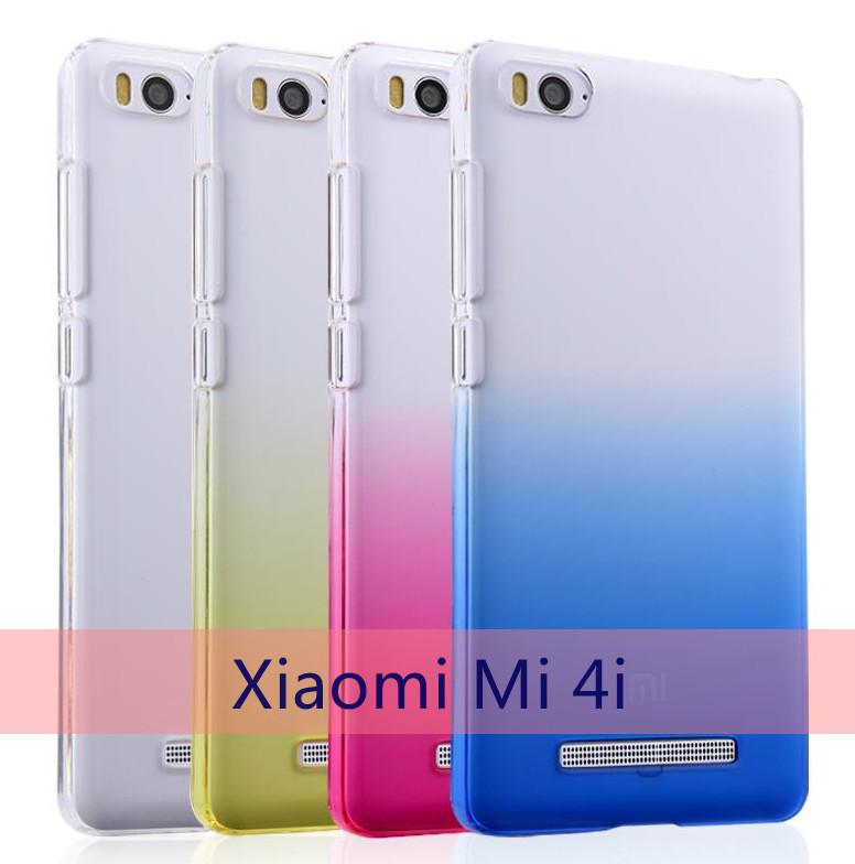YIUS Xiaomi Mi 4i Mi4i Mi4 Colorful Transparent Back Case Cover Casing