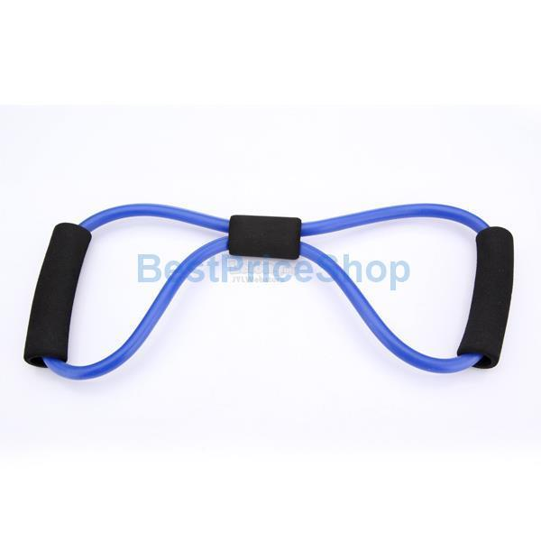 Yoga Resistance Bands Tube Fitness Muscle Workout Exercise Tubes 8