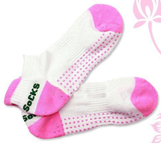 Yoga Rubber Toe Sock Foot Socking Hose Anti Slip Novelty Shoes Shoe