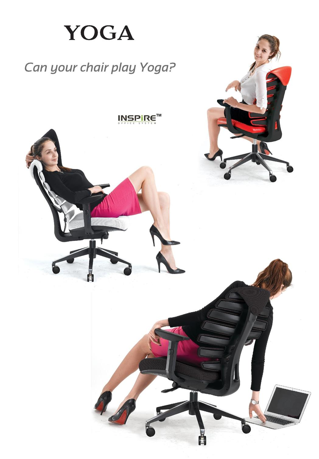 Yoga Series Pvc High Back Office Chair