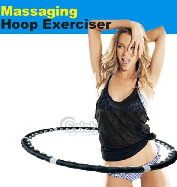Yoga Sport Hula Hoop Ring Good Fitness Body Round Turn Circle Diet