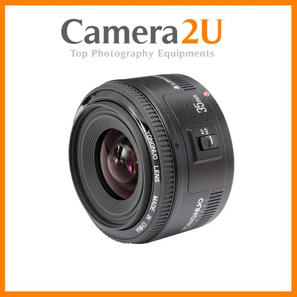 Yongnuo 35mm F/2 Lens for Canon EF Mount EOS DSLR Camera